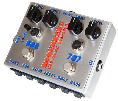 RODENBERG GAS-728 NG Clean Boost/Overdrive