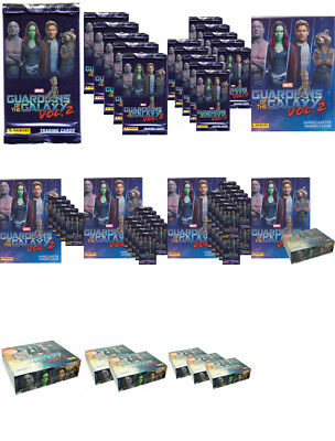Panini - Guardians of the Galaxy Vol.2 -Trading Cards-Display, Starter aussuchen