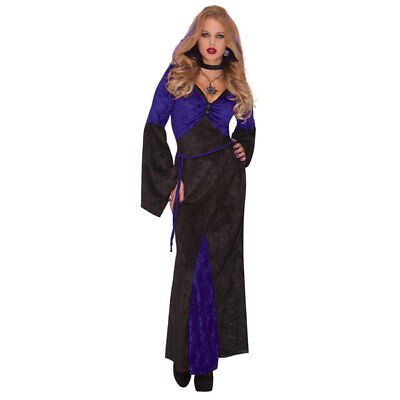 Womens Halloween Mistress of Seduction Ladies Fancy Dress Costume