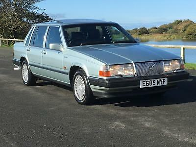 1988 Volvo 760 Gle Auto Saloon. Genuine 60,000 Miles From New!  Incredible!
