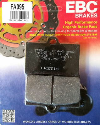 Goldfren Sintered Rear Brake Pads Yamaha SZR660 96-97