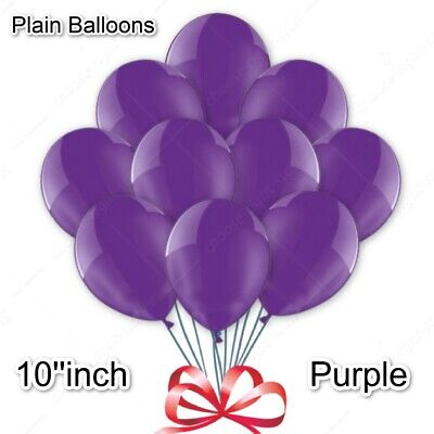 WHOLESALE Purple BALLOONS Latex BULK PRICE JOBLOT Quality Any Occasion baloons