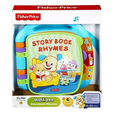 Fisher Price Laugh & Learn Storybook Rhymes Sing Along Toy