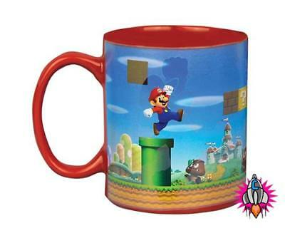Official Nintendo Super Mario Bros Red Heat Changing Coffee Mug Cup