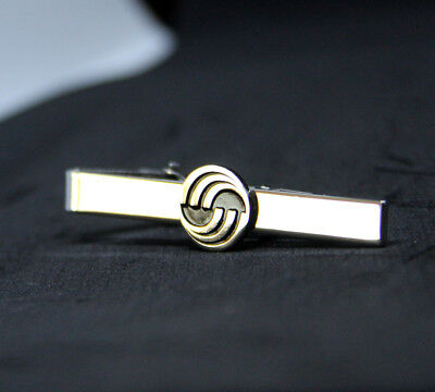 Tiebar Tie ClaspTie Clip Bar Airbus Company SILVER with logo for Pilots Crew