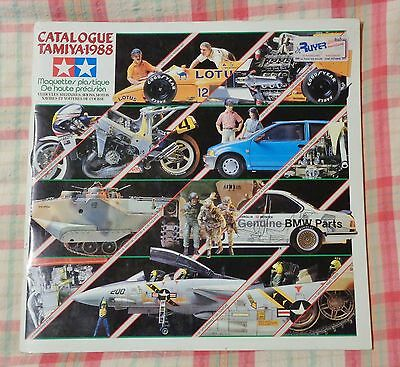 Vintage Catalogue Tamiya 1988
