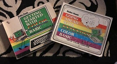 Tandy CoCo Books for the Color Basic language