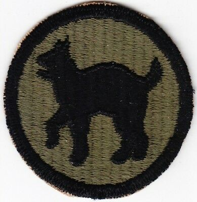 WW2 81st Infantry Division Patch