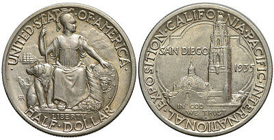 United States of America - 1/2 Dollar 1935 San Diego, Exposition 001
