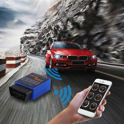 Universal B06 ELM327 V1.5 Bluetooth OBD2 Car Diagnostic Tool V1.5 Blue ye
