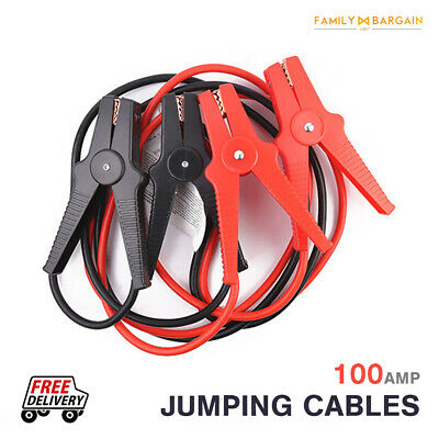 100 amp heavy duty Jump leads lead With Soft Carry Case ideal for cars and vans