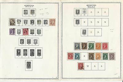 Argentina Collection 1858-1972 on 104 Minkus Specialty Pages, Loaded