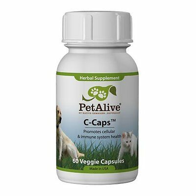 Petalive C-Caps C Caps Natural Remedy  Complete Cellular Health In Cats And Dogs