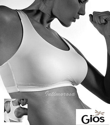 Bra Sports Stretch Cotton Gios Jump B Cup Comfortable