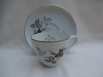 Thomas Klm Krister Leaf Pattern Cup And Saucer - Pattern 730