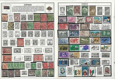 Australia Collection 1913-2004 on 35 Harris Pages, Great Selection & Value