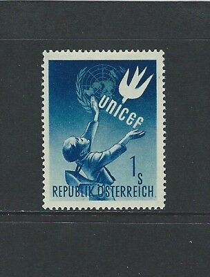 Austria - #559 - Unicef Mint Stamp (1949) Mlh