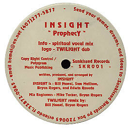 Insight - Prophecy - Sunkissed - 1996 #10065