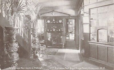 Entrance Hall, Kings Arms Hotel, STRANRAER, Wigtownshire