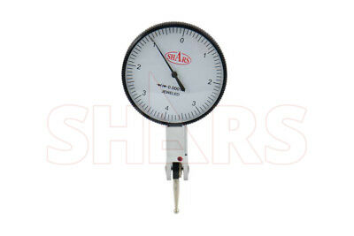 "Shars .008"" Large 0-4-0 Dial Test Indicator .0001"" Case New"