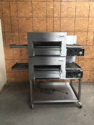 LINCOLN IMPINGER 1116 Double Gas Conveyor Pizza Oven **RETAILS FOR $25,000**