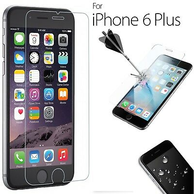 """Premium Real Tempered Glass Film Screen Protector for Apple iPhone 6S Plus 5.5"""""""