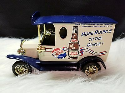 Golden Wheel Diecast Ford 1929 Pepsi Cola Delivery Truck Coin Bank
