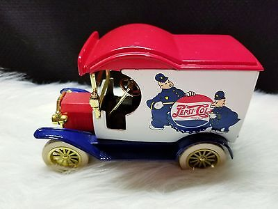 Gearbox Pepsi Cola Diecast 1912 Delivery Truck Coin Bank