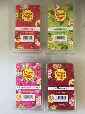 ** Set of 48 Wax Melts ** Chupa Chups Scented (Cherry/Lime/Strawberry)