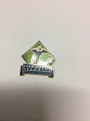 Atlanta Olympic Games 1996 Borg Warner Security Sports Pin:Football
