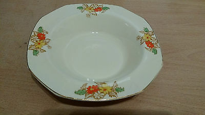 "Alfred Meakin Marigold ""Princess"" Shape Art Deco 3 x Sweet Dishes.#37N85.Ex Cond"