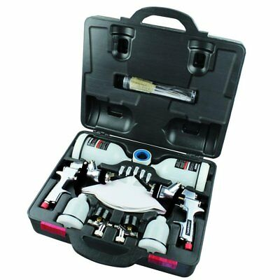 Husky HVLP and Standard Gravity Feed Spray Gun Kit Stainless Steel Reliability