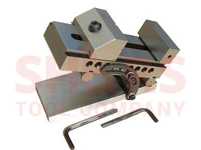 """OUT OF STOCK 90 DAYS SHARS Precision Sine Vise 2-5/8"""" NEW!"""