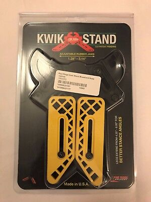 Pine Ridge Kwik Compound Archery Bow Stand - Yellow