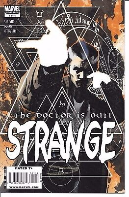 Marvel Comics STRANGE THE DOCTOR IS OUT #1 first printing