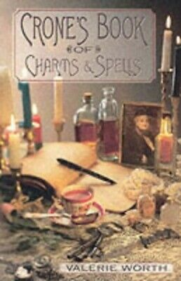 The Crone's Book of Charms and Spells by Worth, Valerie Paperback Book The Cheap