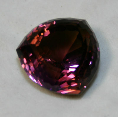 Natural ametrine troida faceted gem...54.5 Carats
