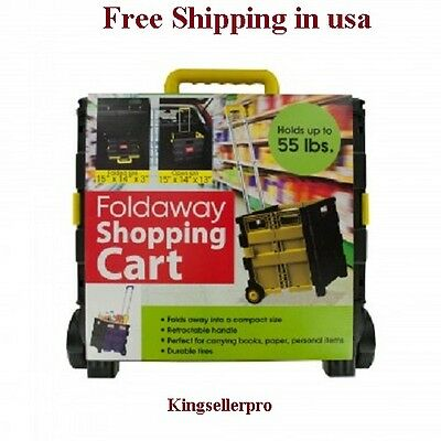 Folding Shopping Cart, 55 lbs Capacity NEW Labor day offer