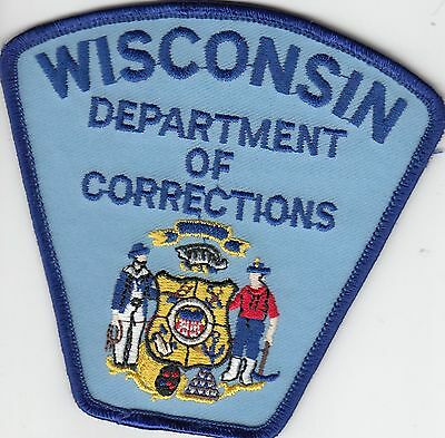 Wisconsin Department Of Corrections Doc Police Patch Wi