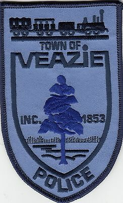 Veazie Police Shoulder Patch Maine Me Train