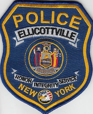Ellicottville New York Police Shoulder Patch Ny