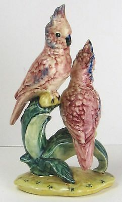 Stangl Double Cockatoo Figurine Colorful 3405D