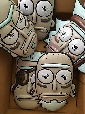 Seal Team Rick Masks SDCC Adult Swim Rick And Morty Pickle Rick Full Set