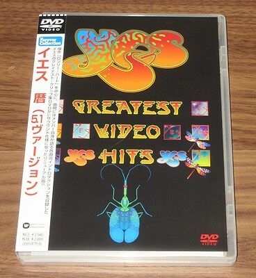 YES Japan PROMO issue DVD obi GREATEST VIDEO HITS more listed JON ANDERSON