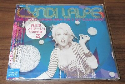 CYNDI LAUPER Japan PROMO CD single SEALED obi EXTENDED MIX 2009 reissue