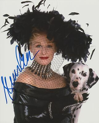 Glenn Close Signed 101 Dalmatians 8X10 Photo