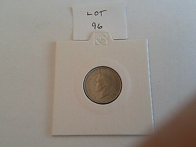 1947 George VI sixpence, EF, (Lot 96)