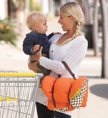 Infantino Upright Travel Necessities Supportive Cart Cover Neutral