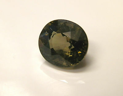 Natural earth-mined green tourmaline gemstone...4 carats