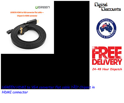 UGREEN HDMI to VGA converter flat cable - Chipset in HDMI connector